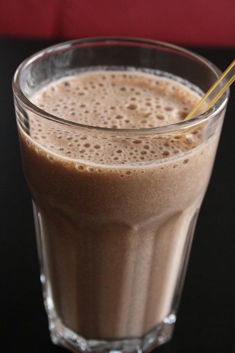 Batido de plátano-Yoga-Batido post yoga-milkshake
