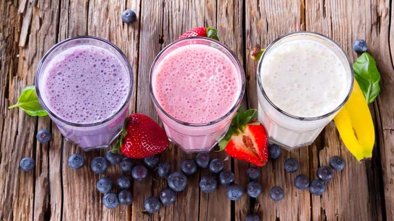bajo en calorías-fruta-smoothie