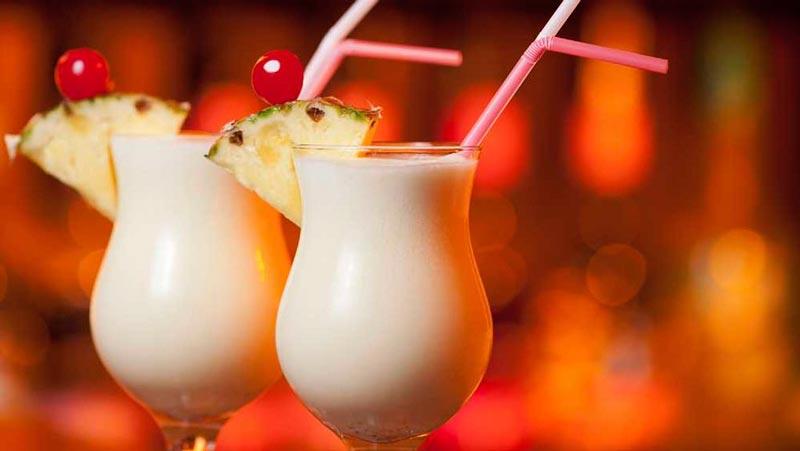 Virgin piña colada - cócteles sin alcohol