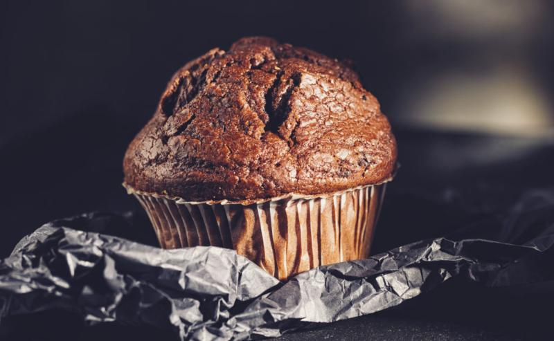 receta de muffin de chocolate