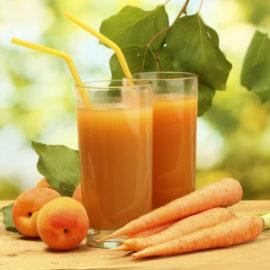 zumos sanos de zanahoria